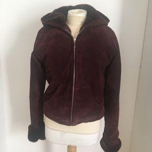 Maxima Wilson's Leather Hoodie Jacket